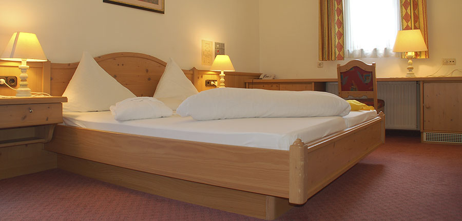 Hotel Hochfilzer, Ellmau, Austria - double Bedroom.jpg